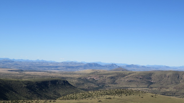 Blistering mountains at Mountain Zebra National Park with A & A Adventures