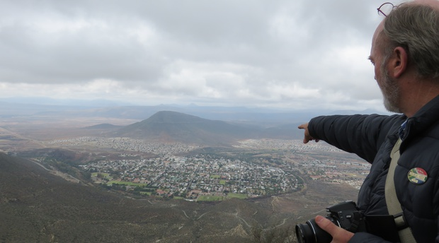 Graaff-Reinet from the Valley of Desolation, A&A Adventures in South Africa