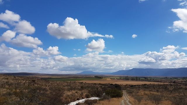 Beautiful skies in South Africa