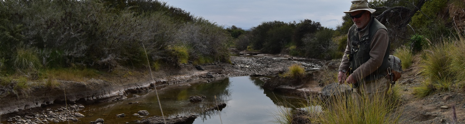 Yellowfishing in the Eastern Cape Karoo with Alan Hobson, Wild Fly Fishing in the Karoo