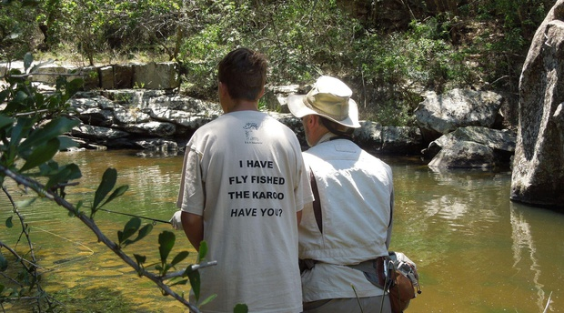 Wild Fly Fishing in the Karoo, hosting